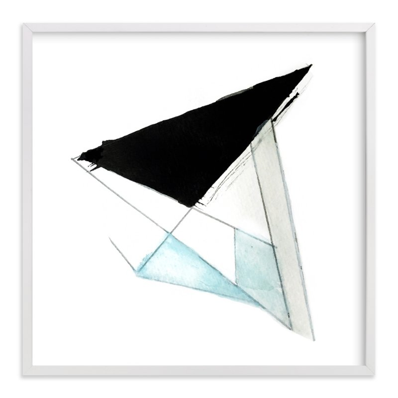 """""""Geometric and Flow"""" - Art Print by Melanie Biehle in beautiful frame options and a variety of sizes."""