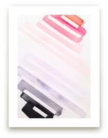Pink, With An Edge Wate... by Melanie Biehle