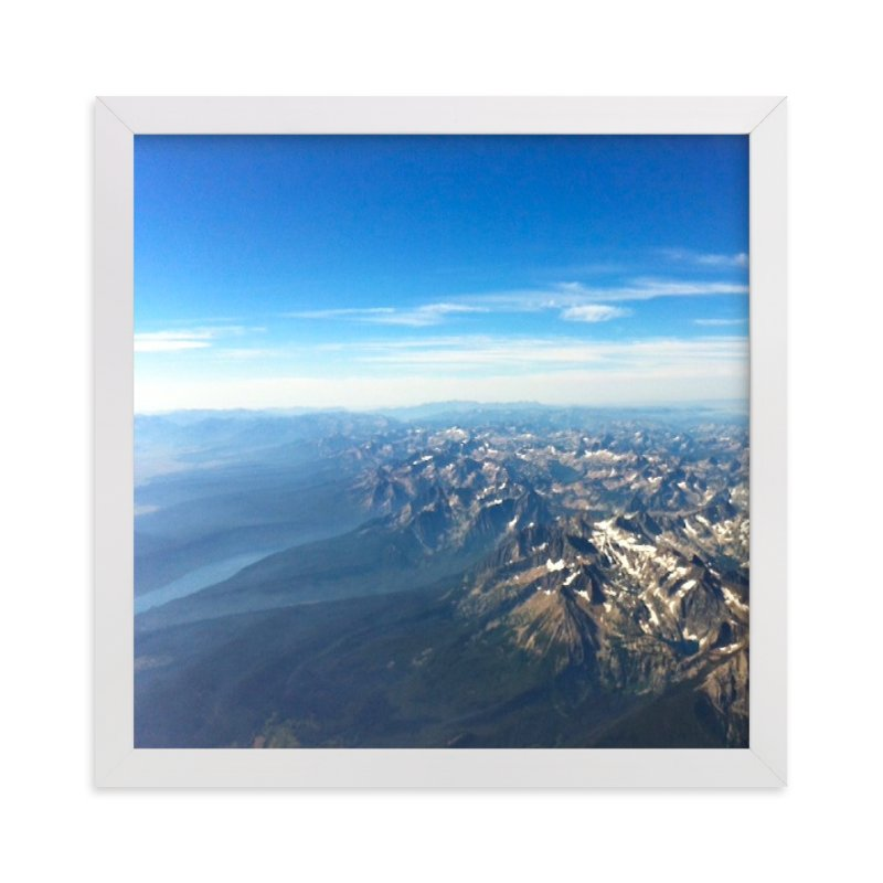 """""""Montana Skies"""" - Art Print by Jeff Vilkin in beautiful frame options and a variety of sizes."""