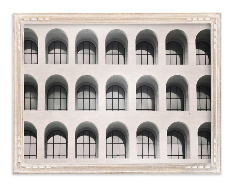 """Square Colosseum"" - Art Print by Remioni in beautiful frame options and a variety of sizes."