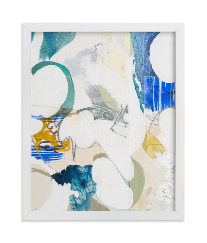 """""""Papers No. 26.1"""" - Art Print by Erin McCluskey Wheeler in beautiful frame options and a variety of sizes."""