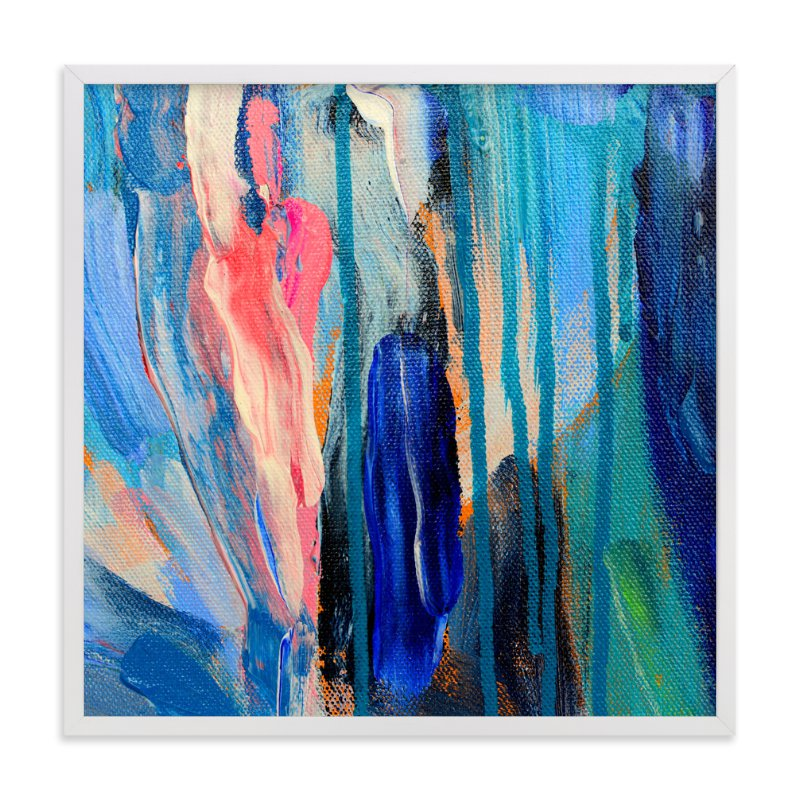 """""""Rising"""" - Art Print by Pooja Pittie in beautiful frame options and a variety of sizes."""