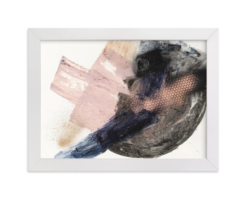 """Settling In"" - Art Print by Lauren Packard in beautiful frame options and a variety of sizes."