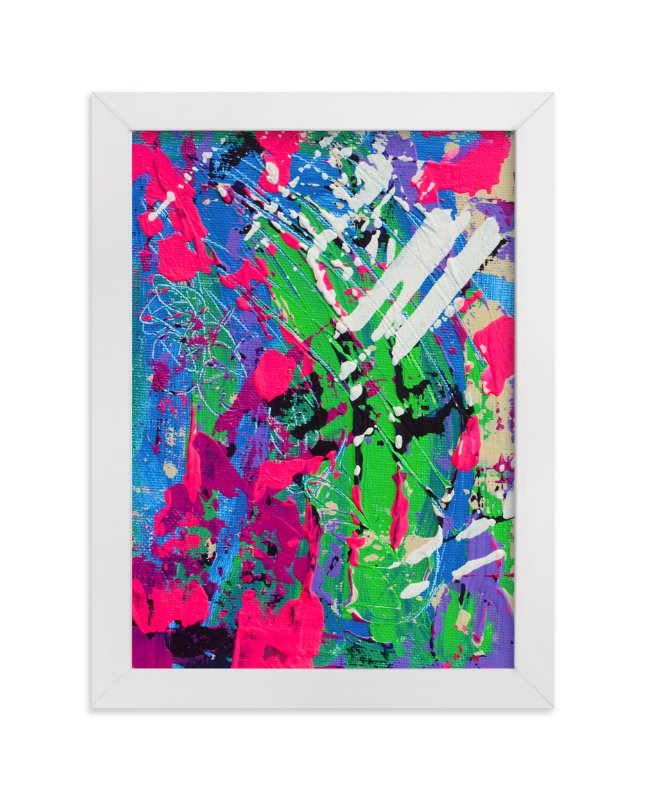 """Color Burst II"" - Art Print by Pooja Pittie in beautiful frame options and a variety of sizes."