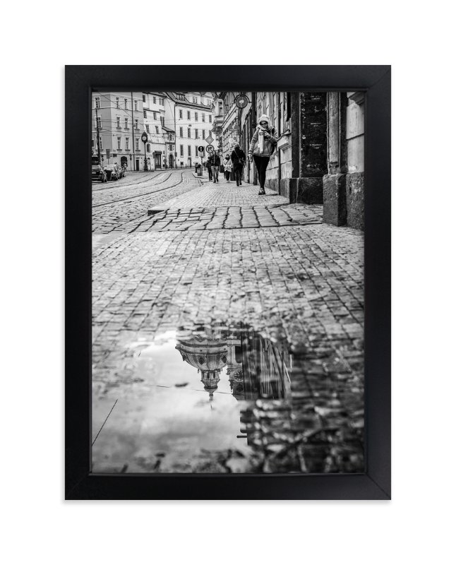 """Saintly Reflections"" - Art Print by Mark Kirby in beautiful frame options and a variety of sizes."