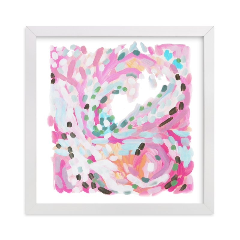 """""""in a moment"""" - Art Print by Jennifer Hallock in beautiful frame options and a variety of sizes."""