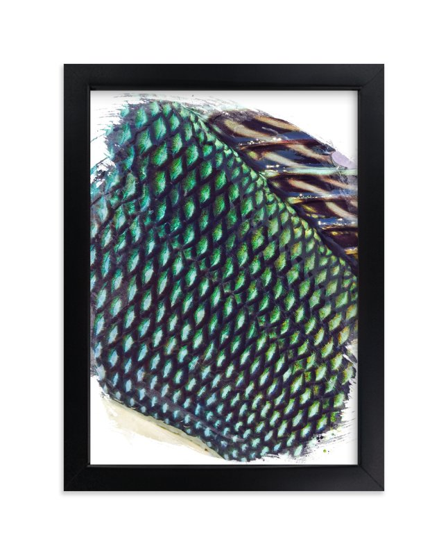 """Abstract Scales 1"" - Art Print by CaroleeXpressions in beautiful frame options and a variety of sizes."