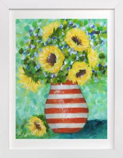 Sunflower Bliss  Art Print
