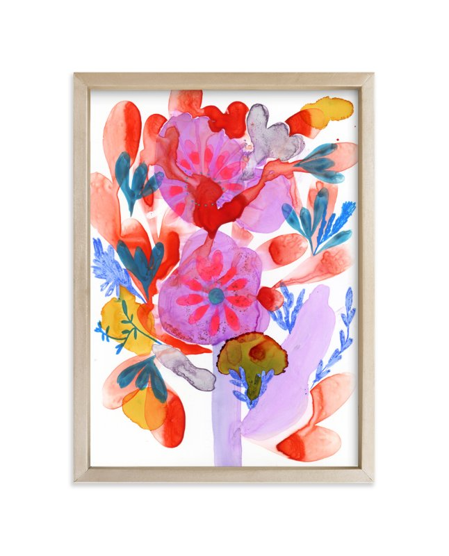 """""""Bright Boquet"""" - Art Print by Anna Marie Farmer in beautiful frame options and a variety of sizes."""