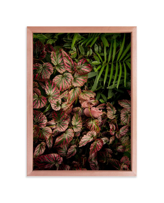 """""""The Jungle Room - Part 2"""" - Art Print by Owl and Toad in beautiful frame options and a variety of sizes."""