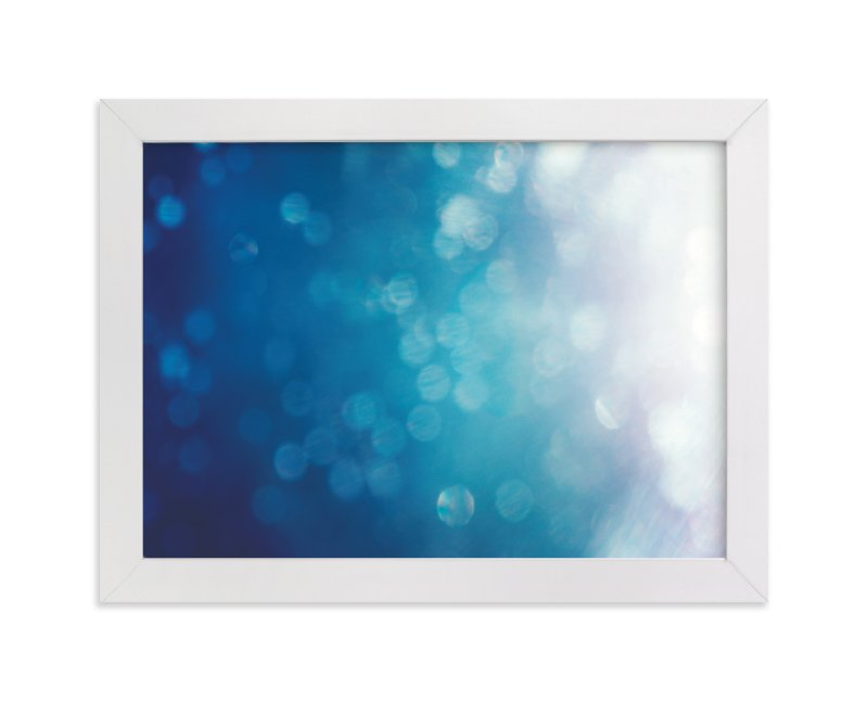 """Shining Brightly"" - Art Print by Smile Peace Love in beautiful frame options and a variety of sizes."