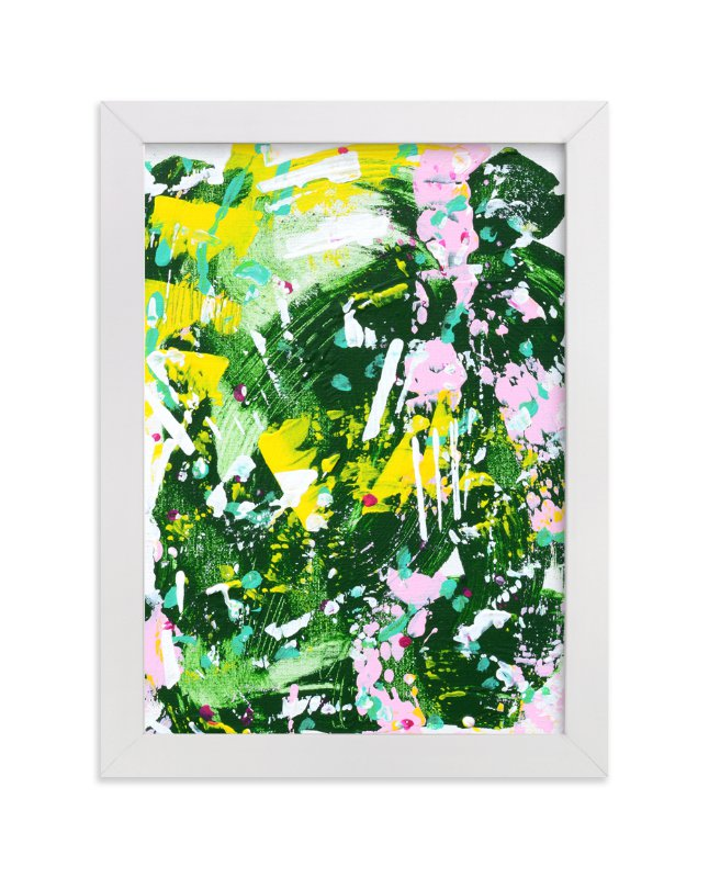 """""""Camo II"""" - Art Print by Pooja Pittie in beautiful frame options and a variety of sizes."""