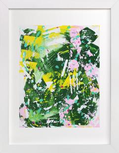 Camo II  Art Print