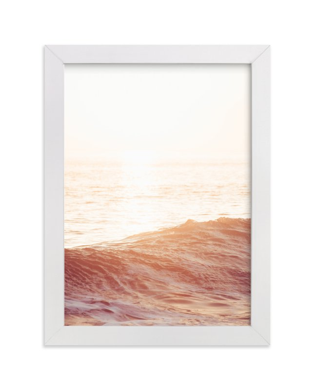 """""""Autumn Ocean"""" - Art Print by Kamala Nahas in beautiful frame options and a variety of sizes."""