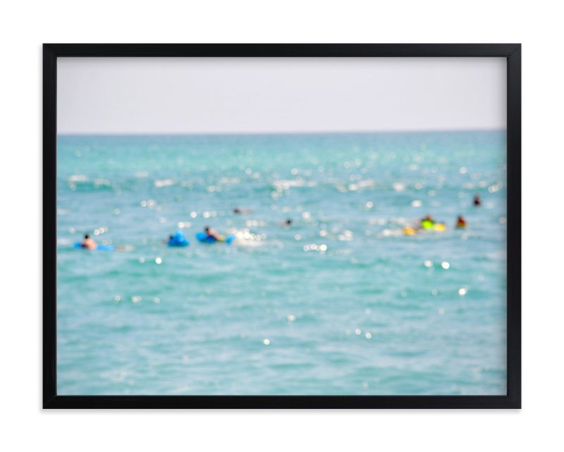 """""""Floating in Baja"""" - Art Print by Gaucho Works in beautiful frame options and a variety of sizes."""
