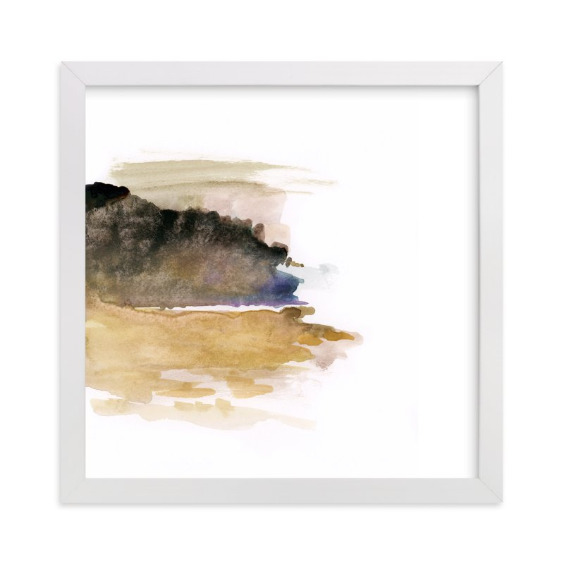 """""""White Space 1"""" - Art Print by Mande in beautiful frame options and a variety of sizes."""