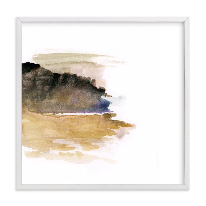 """""""White Space 1"""" - Art Print by Mande Calhoun in beautiful frame options and a variety of sizes."""