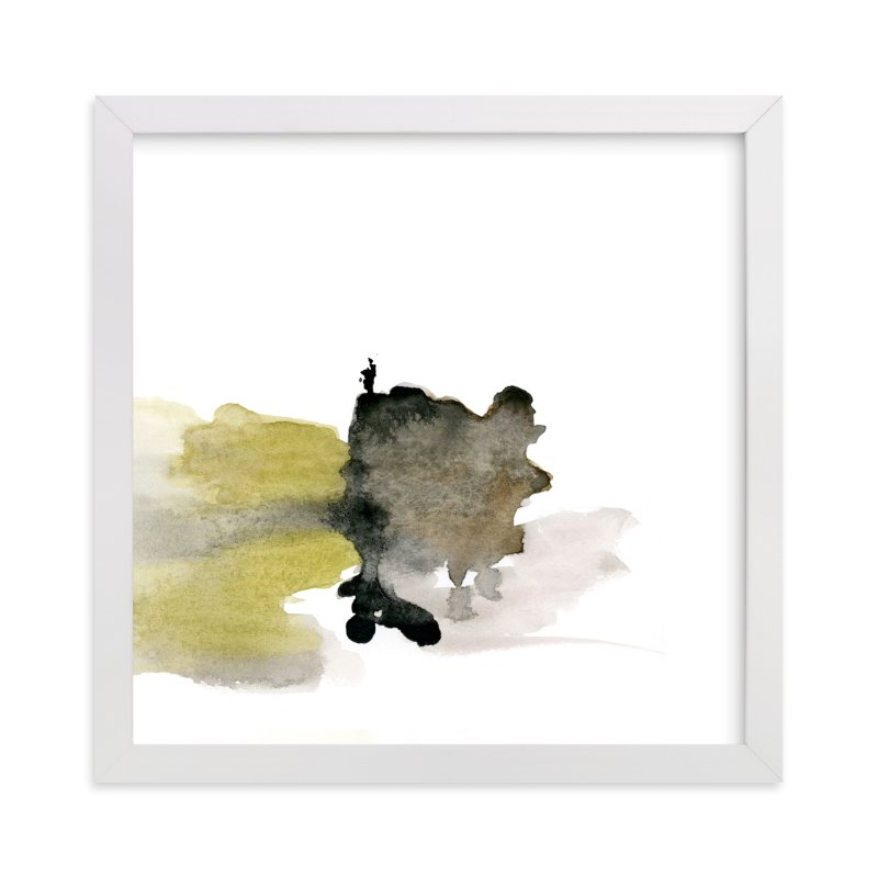 """White Space 4"" - Art Print by Mande in beautiful frame options and a variety of sizes."