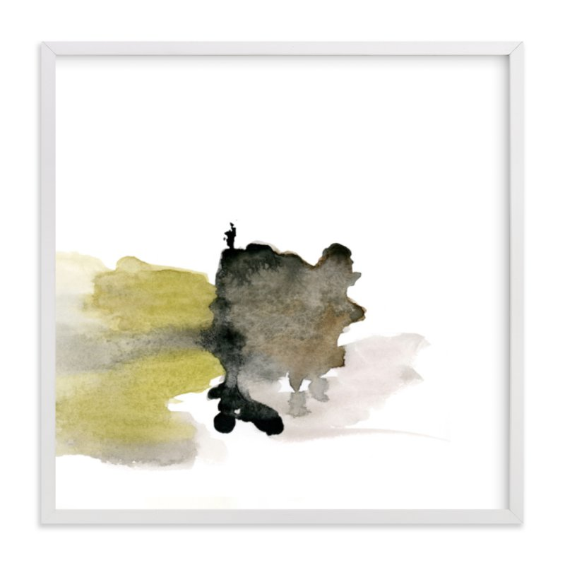 """White Space 4"" - Art Print by Mande Calhoun in beautiful frame options and a variety of sizes."