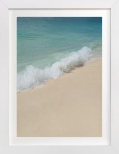 Splash of Turquoise  Art Print