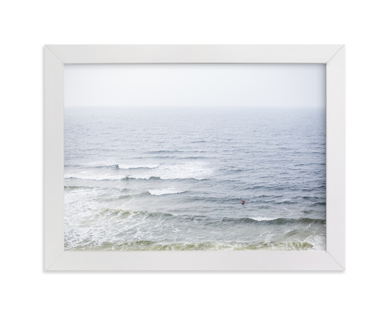 """Ocean Scene"" - Art Print by Melinda Denison in beautiful frame options and a variety of sizes."