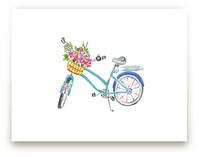 Rose Farm Bicycle Wall Art Prints