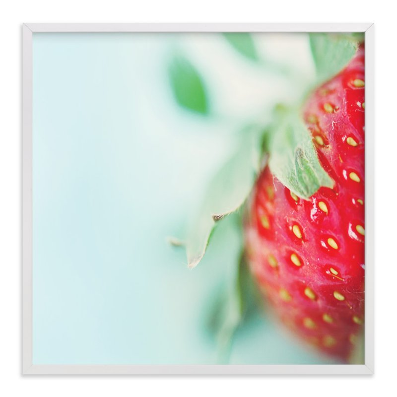 """Beautiful Berry"" - Art Print by Smile Peace Love in beautiful frame options and a variety of sizes."
