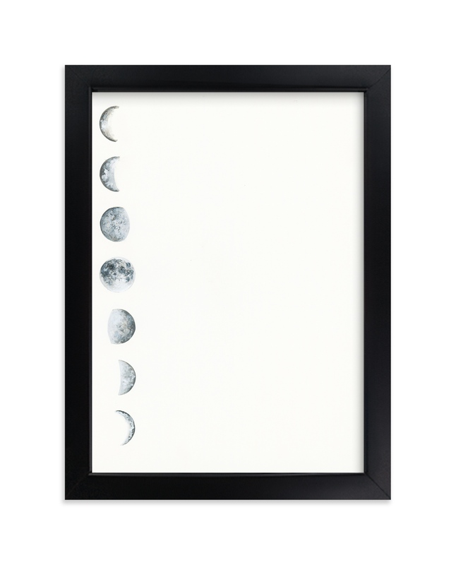 """Phase"" - Art Print by Emily Magone in beautiful frame options and a variety of sizes."