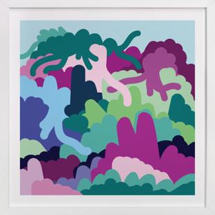 Daydreamer's Paradise  Art Print