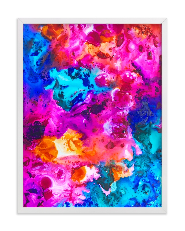 """""""Across the  Universe"""" - Art Print by Michelle Jean in beautiful frame options and a variety of sizes."""
