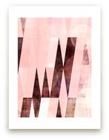 Pink Mid Century Modern by Amy Lighthall