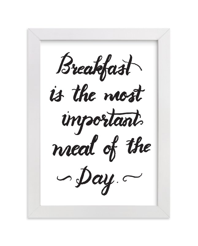 """""""breakfast"""" - Art Print by aticnomar in beautiful frame options and a variety of sizes."""