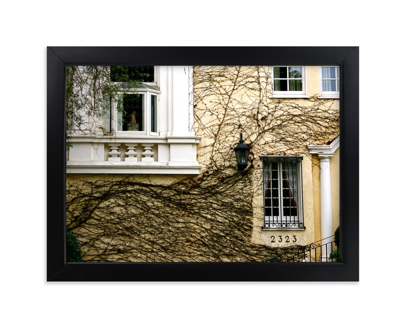 """""""House of Vines"""" - Art Print by AJD in beautiful frame options and a variety of sizes."""