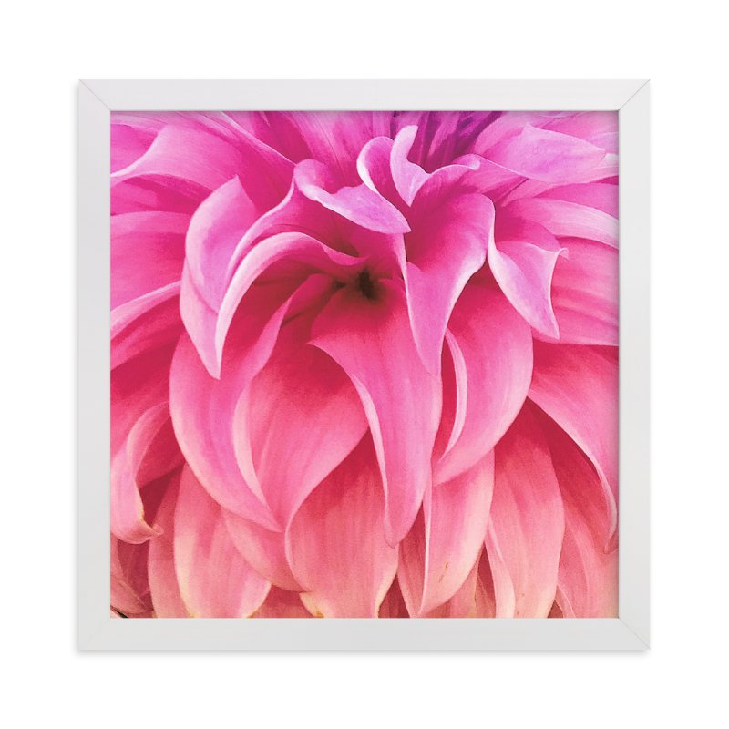 """""""Spring Noir 6"""" - Art Print by Sarah Johnson in beautiful frame options and a variety of sizes."""