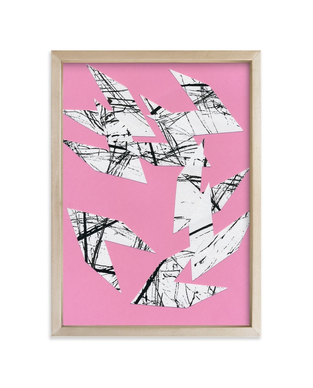 """""""Flock of Seagulls"""" - Art Print by Kim Johnson in beautiful frame options and a variety of sizes."""