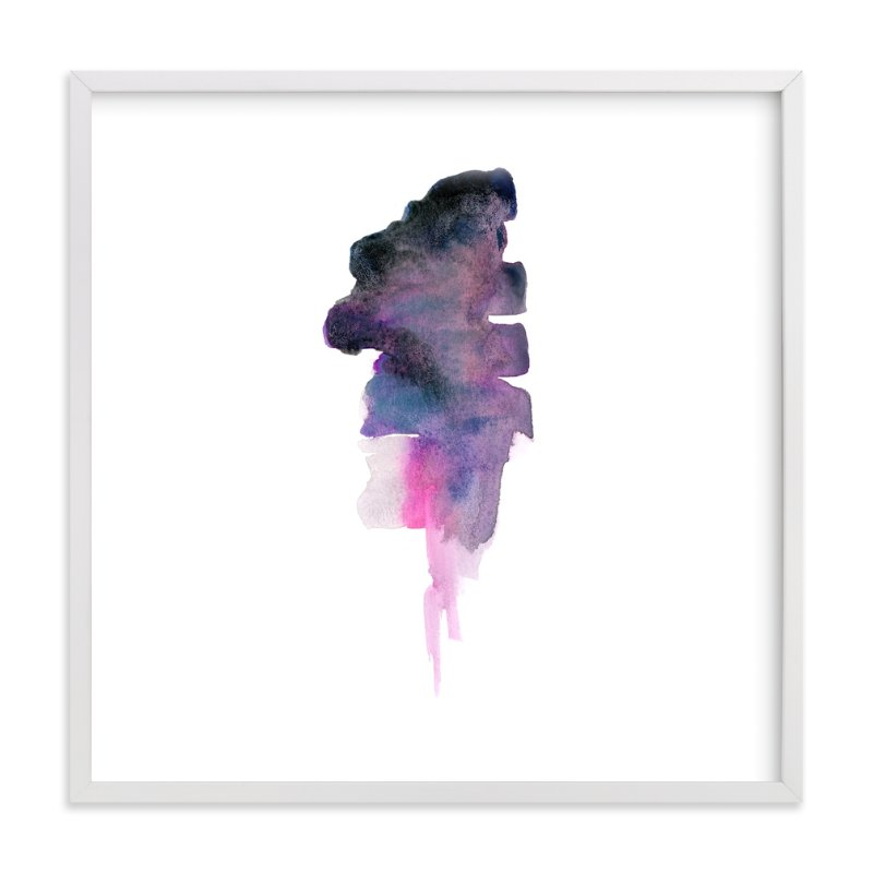 """""""White Space 3"""" - Art Print by Mande in beautiful frame options and a variety of sizes."""