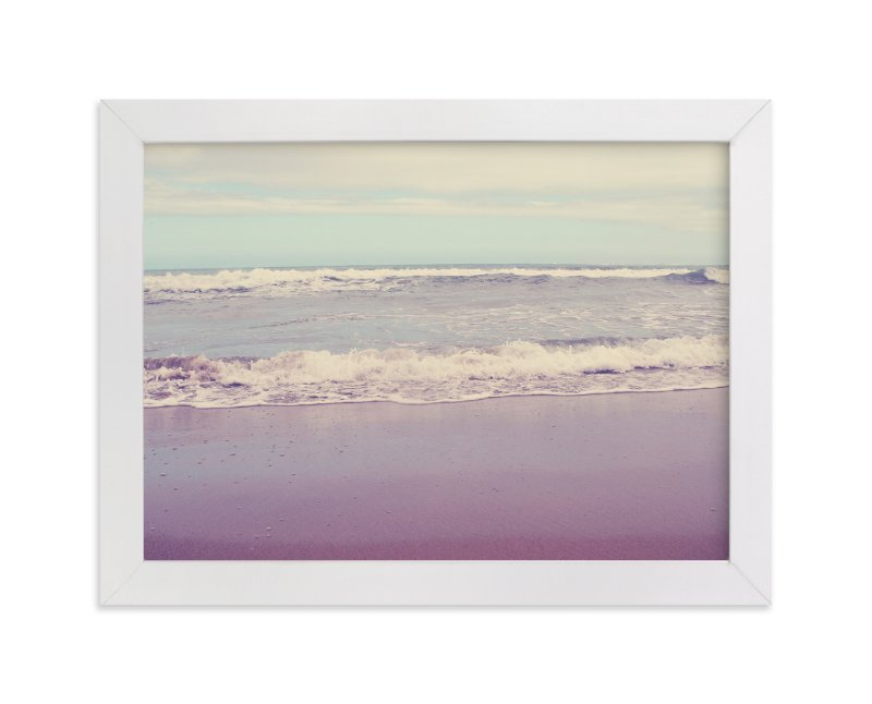 """""""Waves of Summer"""" - Art Print by Gray Star Design in beautiful frame options and a variety of sizes."""