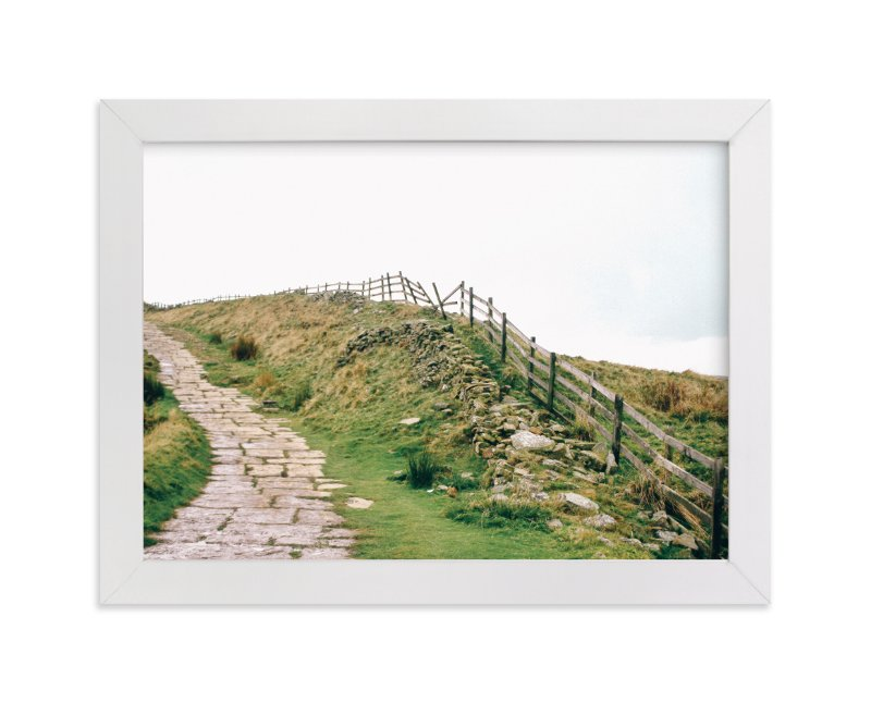 """""""Peak District No. 2"""" - Art Print by lulu and isabelle in beautiful frame options and a variety of sizes."""