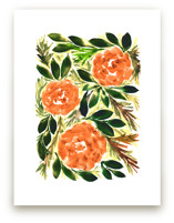 hand painted flowers_3G by aticnomar