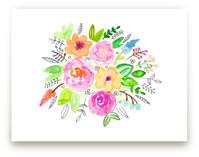 Flourish Watercolor by Juliana Zimmermann