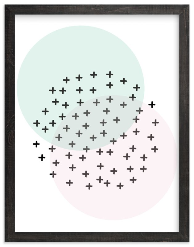 """""""positive"""" - Art Print by tammie bennett in beautiful frame options and a variety of sizes."""