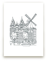 Amsterdam Sketchbook by Krissy Bengtson
