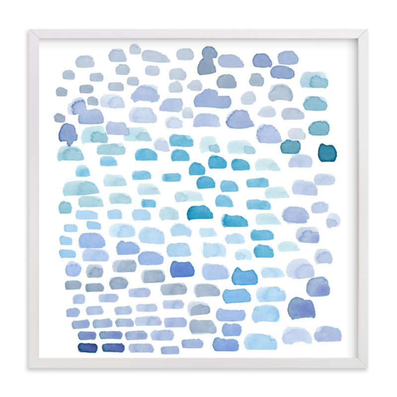"""Cloudy Day"" - Art Print by Kim Johnson in beautiful frame options and a variety of sizes."