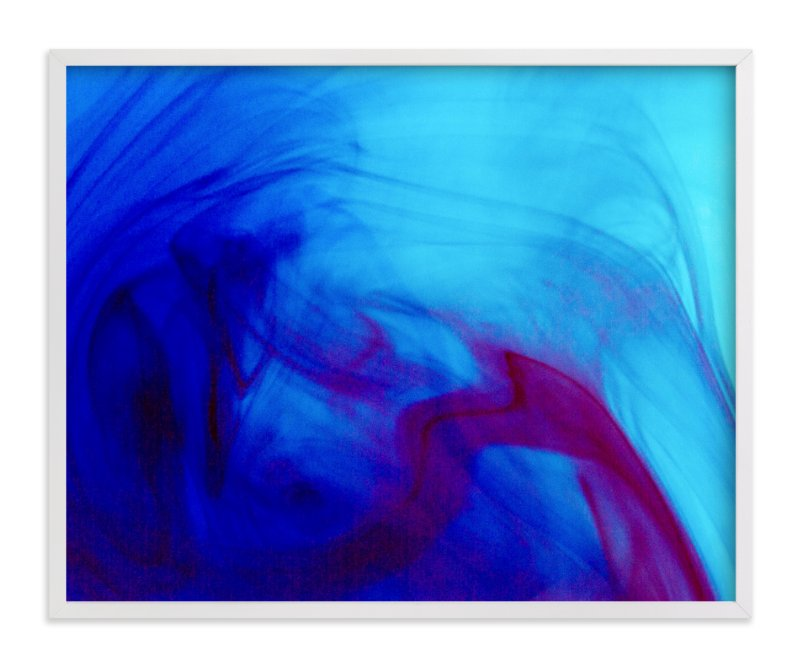 """""""Dark Blue"""" - Art Print by Alexis Arnold in beautiful frame options and a variety of sizes."""