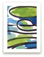 Swirling Oceans by Deborah Velasquez