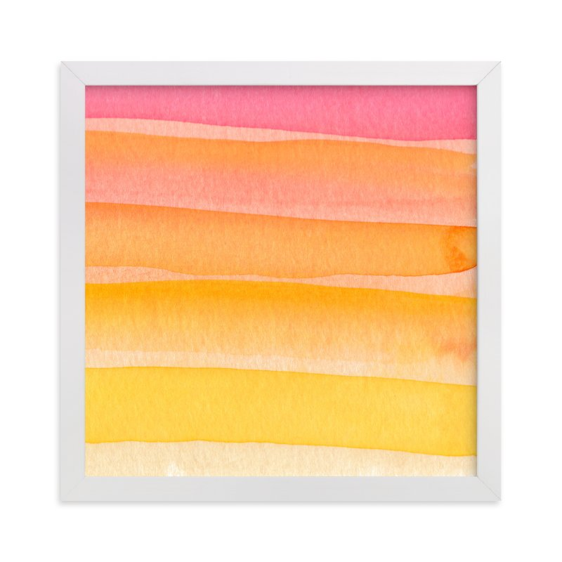 """""""Sun-Daze"""" - Art Print by Sarah Johnson in beautiful frame options and a variety of sizes."""