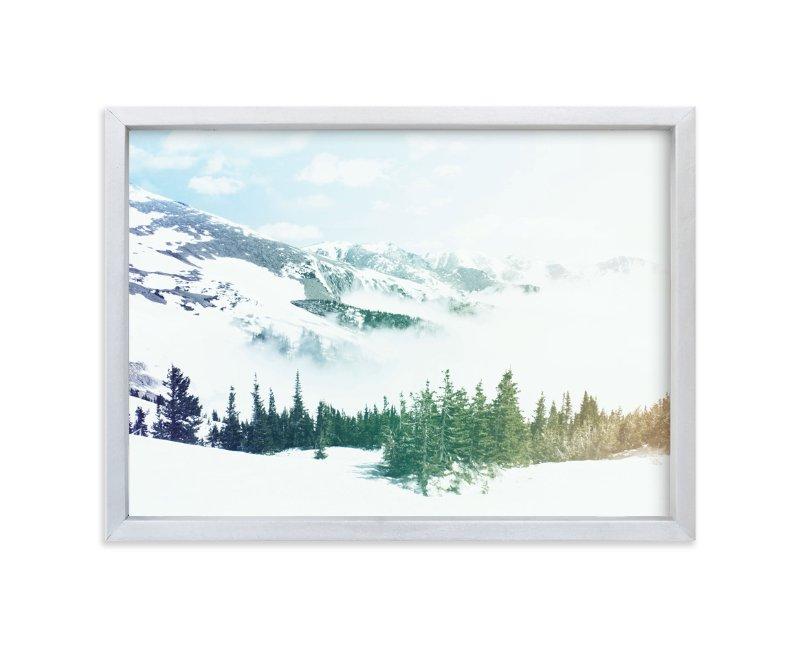 Mountainside Magic Art Print