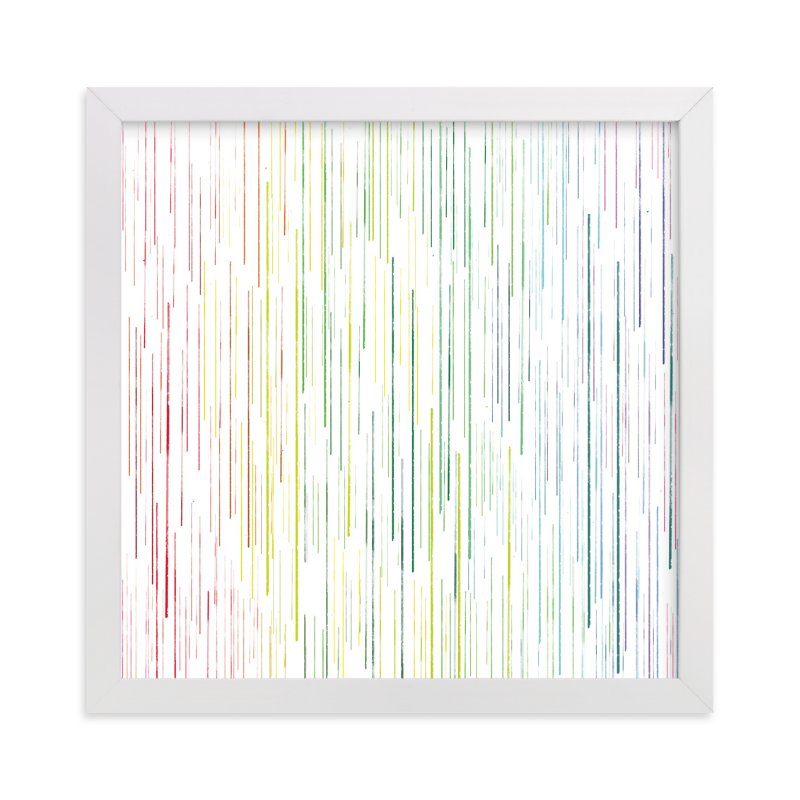 """""""drips of color"""" - Art Print by Smile Peace Love in beautiful frame options and a variety of sizes."""