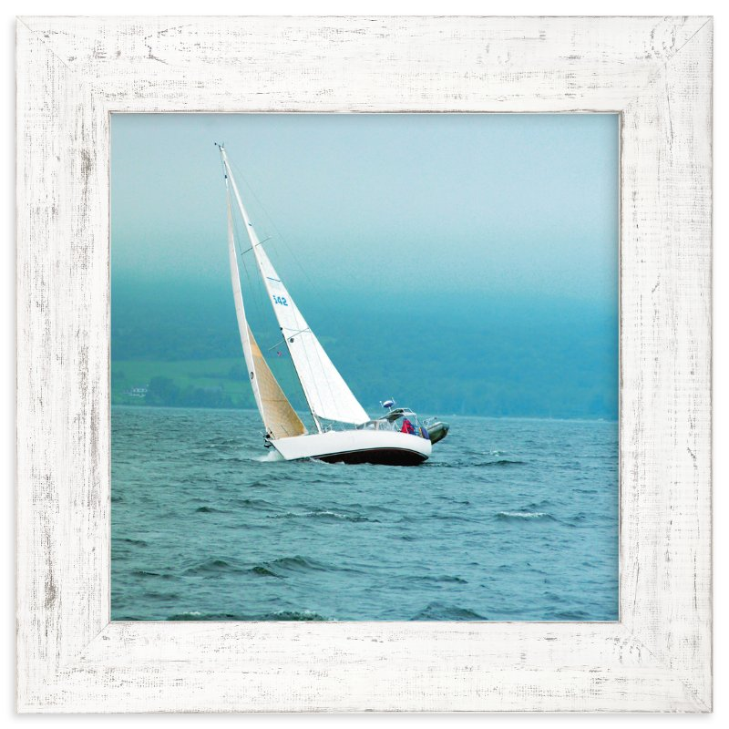"""Sailboat"" - Art Print by Smile Peace Love in beautiful frame options and a variety of sizes."