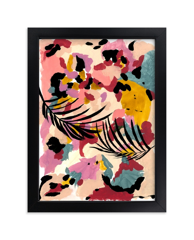 """""""Summer petals"""" - Art Print by FERNANDA MARTINEZ in beautiful frame options and a variety of sizes."""